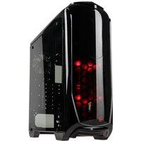 Aviator V Midi Tower Gaming Case - Black Full Side Window