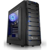 PC Specialist Vanquish Nexus II Gaming PC, Intel Core i7-8700 3.2GHz, 16GB DDR4, 1TB HDD, 120GB SSD, NVIDIA GTX 1060 6GB, WIFI,