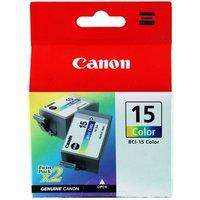 Image of Canon Inkjet Cart Black Bci-15bk Pk2