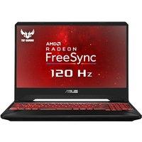 ASUS TUF FX505DY RX560X Gaming Laptop, AMD Ryzen R5-3550H 2.1GHz, 16GB DDR4, 1TB HDD, 256GB SSD, 15.6andquot; Full HD, No-DVD, AMD Vega RX560X 4GB, WIFI, Windows 10 Home