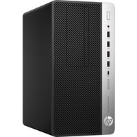 HP EliteDesk 705 G4 Workstation Edition Desktop PC, AMD Ryzen 5 2400G 3.6GHz, 16GB DDR4, 256GB SSD, DVDRW, AMD RX Vega 11, Windows 10 Pro