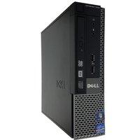 REFURBISHED Dell 7010 SFF Desktop PC + Monitor Bundle, Intel Core i5-3470, 8GB DDR3, 256GB SSD CD/DVD, Intel HD, Windows 10 Pro - 3 Year Warranty