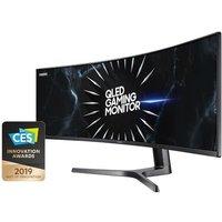 "Samsung C49RG90 49"" QLED Curved Ultra Wide Dual QHD Gaming Monitor"