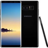 Samsung Note 8 64GB Smartphone- Black (Single Sim)