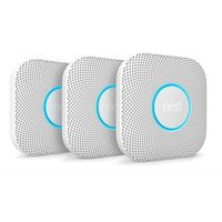 Image of Google Nest Protect Smart Smoke and CO Alarm 3 Pack - Battery Powered