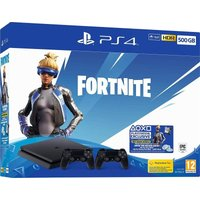'Sony Playstation Ps4 500gb Console - Fortnite Neo Versa Bundle With Second Dualshock 4 Controller