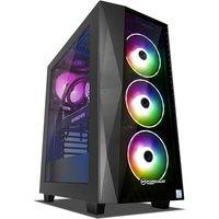 PC Specialist Renegade XT 2080 SUPER Gaming PC, Intel Core i7-9700 3.0GHz, 16GB RAM, 3TB HDD, 256GB SSD, NVIDIA GeForce RTX 2080 SUPER 8GB, WIFI, Windows 10 Home 64 Bit