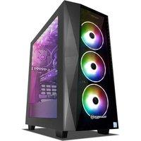 PC Specialist Hellfire ST 2080 SUPER Gaming PC Intel Core i7-9700 3.6Ghz 16GB DDR4 3TB HDD 256GB SSD No-DVD NVIDIA 2080 SUPER 8G