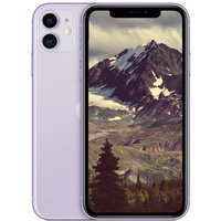 "Apple iPhone 11 (2019) 64GB Purple - A13 Chip, 6.1"" Liquid Retina HD, Dual 12MP Camera"