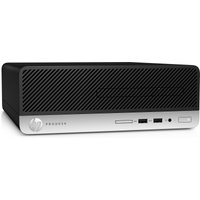 HP ProDesk 400 G6 SFF Desktop PC, Intel Core i5-9500 3 GHz, 8GB DDR4, 256GB SSD, DVDRW, Intel UHD, Windows 10 Pro