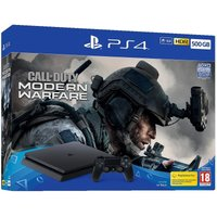 'Sony Playstation 4 Ps4 500gb Console With Call Of Duty Modern Warfare