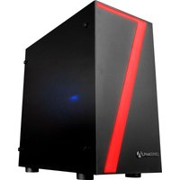 AlphaSync Gaming Desktop PC, AMD Ryzen 3 2300X, 8GB 3200MHz, 1TB HDD, 240GB SATA SSD, XFX RX 570 8GB, WIFI, Windows 10 Home