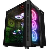 AlphaSync Gaming Desktop PC, Intel Core i9-9900KS, 32GB RAM, 4TB HDD, 500GB SSD, MSI RTX 2080Ti Gaming X Trio 11GB, WIFI, Windows 10 Home, H100i Water Cooled