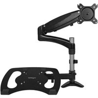 StarTech.com Articulating Monitor Arm and Laptop Stand