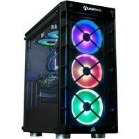 AlphaSync Gaming Desktop PC, AMD Ryzen 7 3800X, 16GB DDR4, 4TB HDD, 500GB NVMe, MSI RTX 2080 SUPER VENTUS XS OC, WIFI, Windows 10 Home, H100i