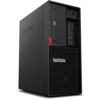 Lenovo ThinkStation P330 Tower Gen 2 Workstation Desktop PC, Intel Xeon E-2244G 3.8GHz, 8GB RAM, 256GB SSD, DVDRW, Intel UHD, Windows 10 Pro, 3yr