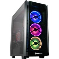 AlphaSync Water Cooled Gaming Desktop PC, AMD Ryzen 9 3900X, 32GB RAM, 4TB HDD, 1TB SSD NVMe, ROG STRIX RTX 2080TI 11GB, WIFI, Windows 10 Home