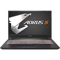 Aorus 5 Core i7 16GB 1TB HDD 512GB SSD RTX 2060 15.6andquot; Win10 Home Gaming Laptop