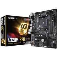 Gigabyte A320M-S2H AMD Socket AM4 mATX Motherboard