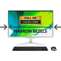 Acer Aspire C27-962 AIO Desktop PC, Intel Core i5-1035G1 1GHz, 8GB DDR4, 1TB HDD, 128GB SSD, 27andquot; Full HD Non-Touch, Intel UHD, WIFI, Windows 10 Home