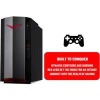 Acer Nitro N50-610 Gaming Desktop PC, Intel Core i5-10400F 2.9GHz, 8GB RAM, 1TB HDD, NVIDIA GeForce GTX 1650 4GB, WIFI, Windows 10 Home
