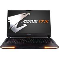 Aorus 17X Core i7 32GB 1TB SSD RTX 2080 Super 17.3andquot; Win10 Home Gaming Laptop