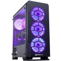AlphaSync Gaming Desktop PC, AMD Ryzen 7 3700X 3.6GHz, 16GB RAM, 1TB HDD, 240GB SSD, Gigabyte RTX 2070 Windforce, WIFI, Windows 10 Home