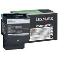 Lexmark C540H1KG Black High Yield Toner - 2500 Pages