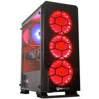 AlphaSync Gaming Desktop PC, AMD Ryzen 7 2700X, 16GB RAM, 1TB HDD, 240GB SSD, ASUS RX 5700 XT,Windows 10 Home