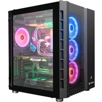 AlphaSync Water Cooled Gaming Desktop PC, Intel Core i9-10850K, 64GB RAM, 4TB HDD, 1TB SSD NVMe, ASUS ROG STRIX RTX 2080TI 11GB, WIFI, Windows 10 Home