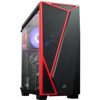 AlphaSync Gaming Desktop PC, AMD Ryzen 7 2700X 3.7GHz, 16GB DDR4, 1TB Seagate Barracuda, 240GB M.2, ASUS Dual RX 5700 XT 8GB, No Operating System