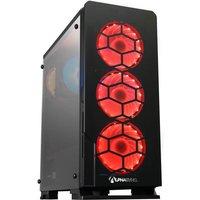 AlphaSync Gaming Desktop PC, AMD Ryzen 7 2700X, 16GB RAM, 1TB HDD, 480GB M.2 SSD, NVIDIA GeForce RTX 3070, Windows 10 Home
