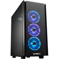 AlphaSync Gaming Desktop PC, Intel Core i9-10850K 3.6GHz, 32GB DDR4 RAM, 4TB HDD, 1TB SSD M.2 NVMe, NVIDIA GeForce RTX 3090, H150i RGB Platinum, HX850, WiFi-6, Windows 10 Home