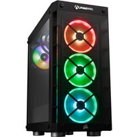 AlphaSync Gaming Desktop PC, Intel Core i9-10850K 3.6GHz, 32GB DDR4 RAM, 4TB HDD, 500GB SSD M.2 NVMe, NVIDIA GeForce RTX 3080, Hydro H100i RGB Platinum, 3000E1 WiFi-6, Windows 10 Home