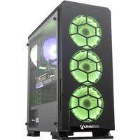AlphaSync Gaming Desktop PC, AMD Ryzen 7 2700X, 16GB RAM, 1TB HDD, 480GB M.2 SSD, ASUS Dual RTX 3070 8GB, Windows 10 Home