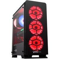 AlphaSync Gaming Desktop PC, AMD Ryzen 7 2700X, 16GB RAM, 1TB HDD, 240GB SSD M.2, NVIDIA GeForce RTX 3060Ti, Windows 10 Home