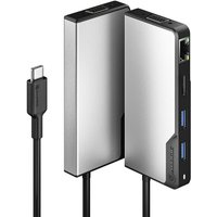 ALOGIC USB-C Fusion MAX 6-in-1 Hub with 100W Power Delivery - Space Grey