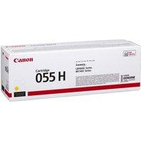 Image of Canon 055 High Yield Yellow Toner Cartridge