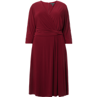 Lauren Ralph Lauren Curve PLUS SIZE Kleid in Wickel-Optik mit Taillenband