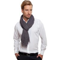 Unisex Schal in Grau (extra Groß)