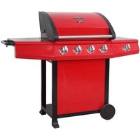 143cm Grenada Gas Barbecue with 4 Burners