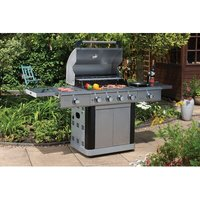 70.6cm St Lucia Electric and Gas Barbecue with 6 Burners