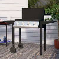 Alberta Gas Barbecue with Side Shelf