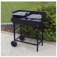 Half Drum Charcoal Barbecue