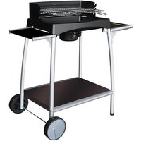 Isy Fonte Charcoal Barbecue with Side Shelf I
