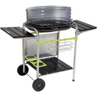 Classy Charcoal Barbecue with Side Shelf