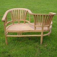 Betawi Garden 2 Seater Teak Love Seat