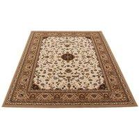 beige oriental area rug