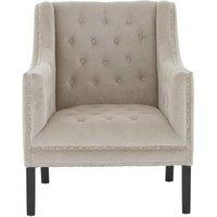 Regents Park Velvet Armchair