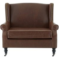 Fulham Double Leather Armchair